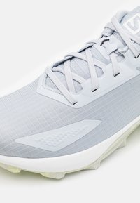 Salomon - ALPHACROSS BLAST - Chaussures de running - arctic ice/white/lunar rock - 5