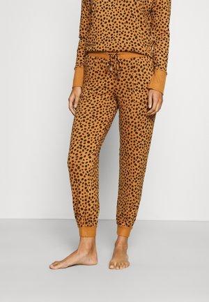 COSY LOUNGE CUFF - Pyjama bottoms - caramel mix