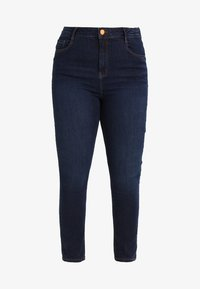 Dorothy Perkins Curve - Jeans Skinny Fit - indigo authentic - 5