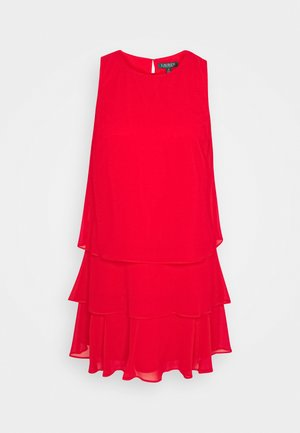 TYREE - Day dress - orient red