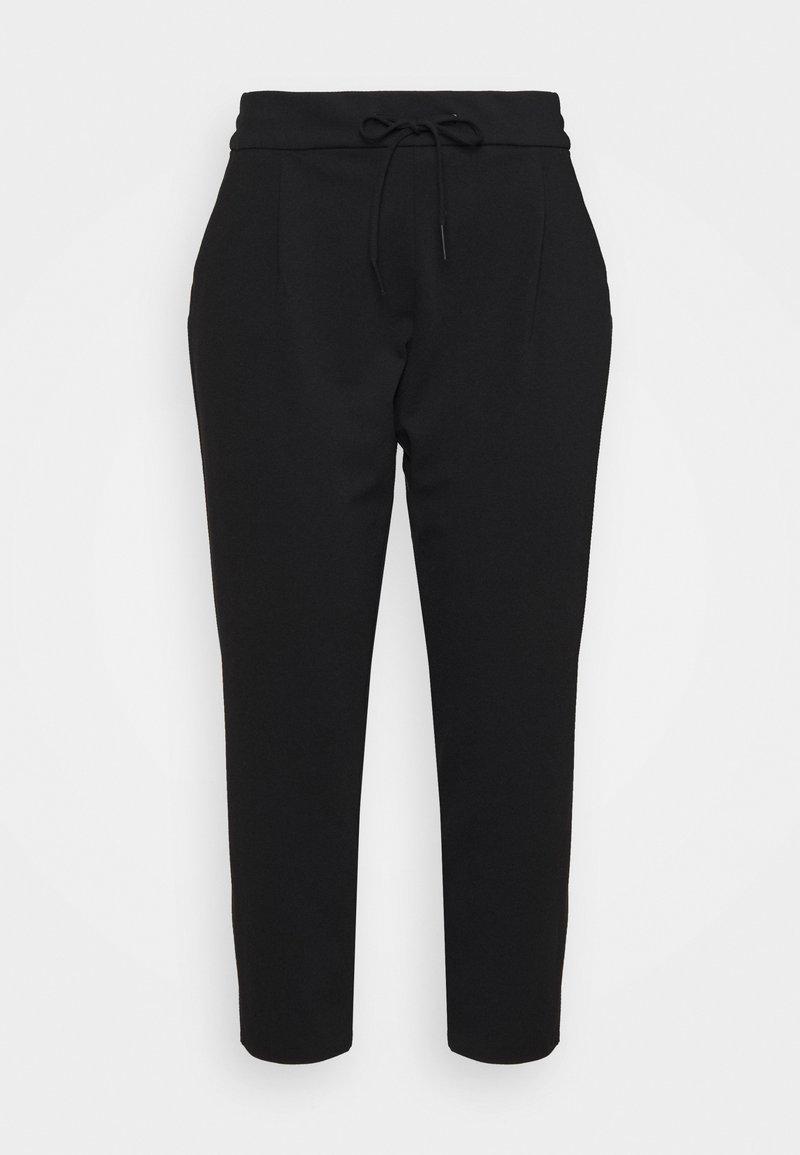 Vero Moda Curve - VMEVA LOOSE STRING PANTS - Tracksuit bottoms - black