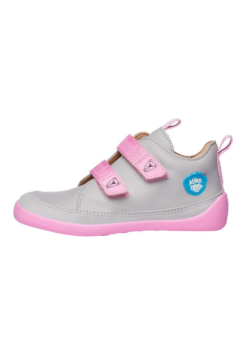 Affenzahn - BARFUSSSCHUH KOALA - Baby shoes - grey