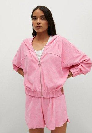 ROSA - Zip-up sweatshirt - rosa