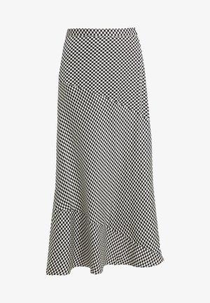 YOKO SKIRT - Maxi skirt - black