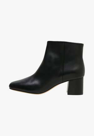 SHEER FLORA - Classic ankle boots - black