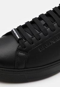 Emporio Armani - Trainers - black - 5