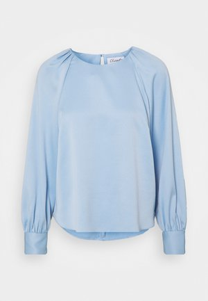 CLOSET GATHERED RAGLAN BLOUSE - Blouse - blue