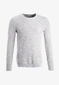 SHXNEWVINCEBUBBLE CREW NECK - Jumper - marshmallow/twisted light grey