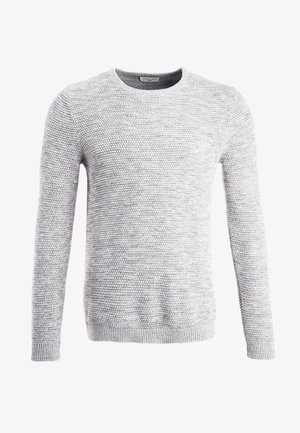SHXNEWVINCEBUBBLE CREW NECK - Jumper - marshmallow/twisted light grey