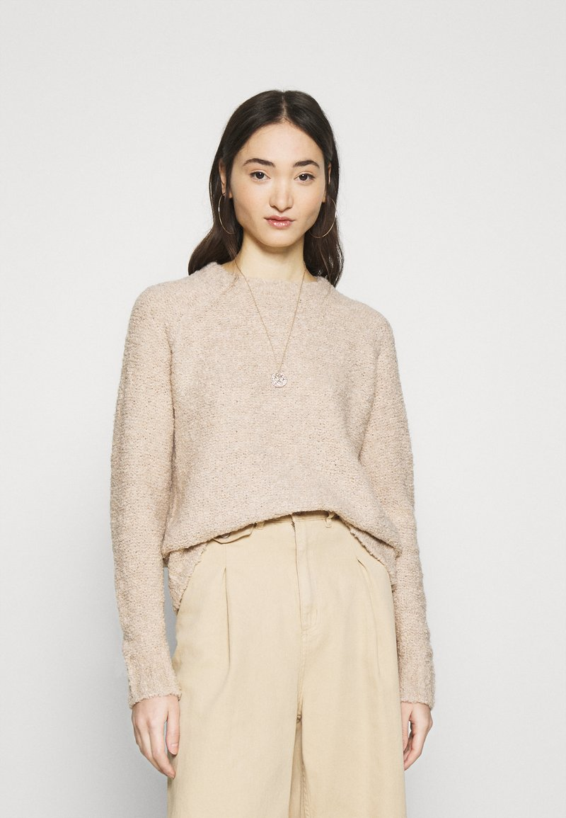 ONLY - ONLOLIVIA O NECK - Maglione - nude