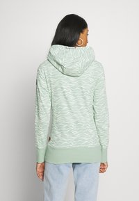 Ragwear - YODA ORGANIC - Sweat à capuche - dusty green - 2