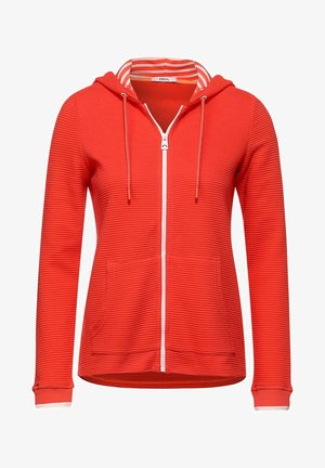 OTTOMAN - Zip-up hoodie - orange