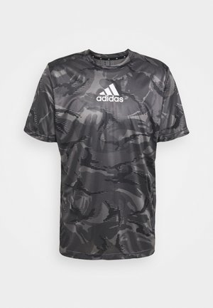 CAMO  - Print T-shirt - grey four