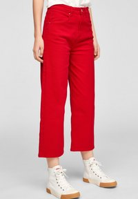 s.Oliver - Trousers - true red - 3