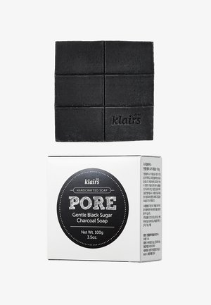 PORE GENTLE BLACK CHARCOAL SOAP - Saponetta - -