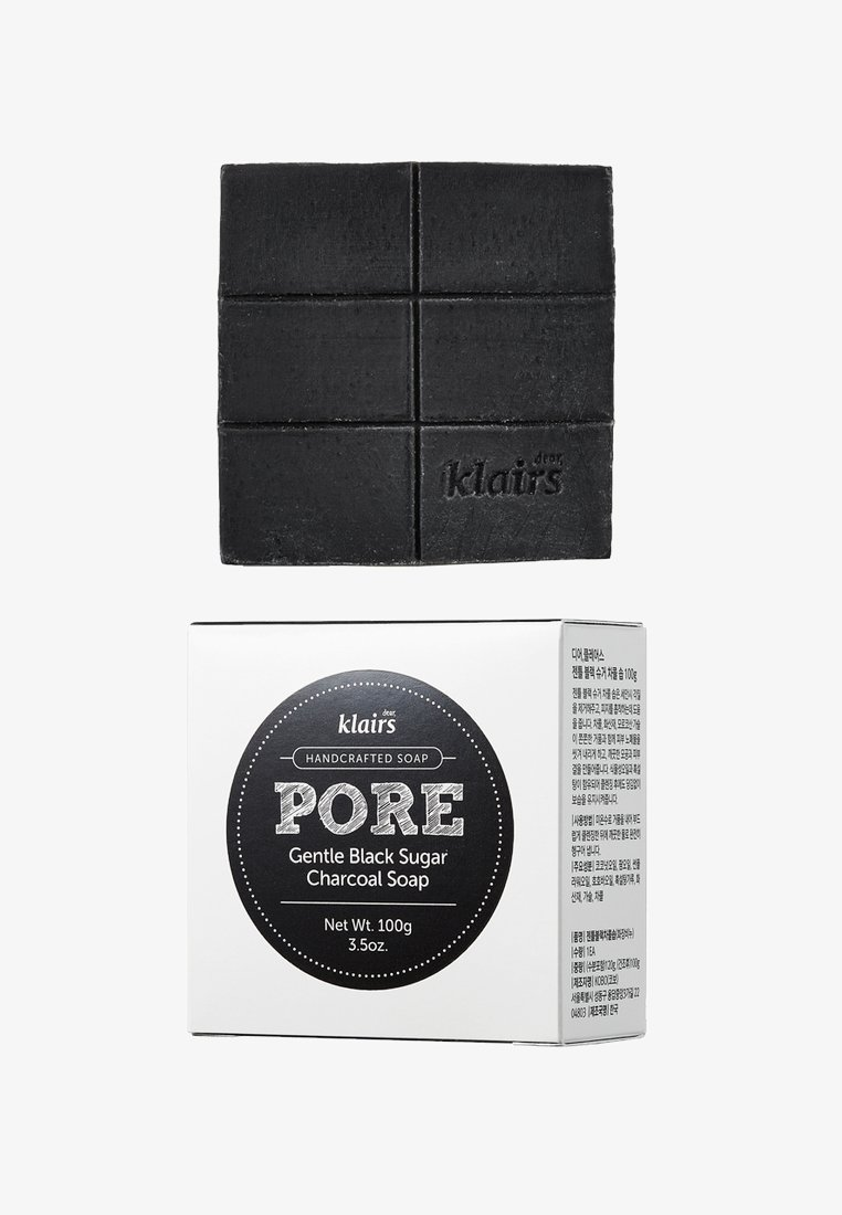 klairs - PORE GENTLE BLACK CHARCOAL SOAP - Soap bar - -