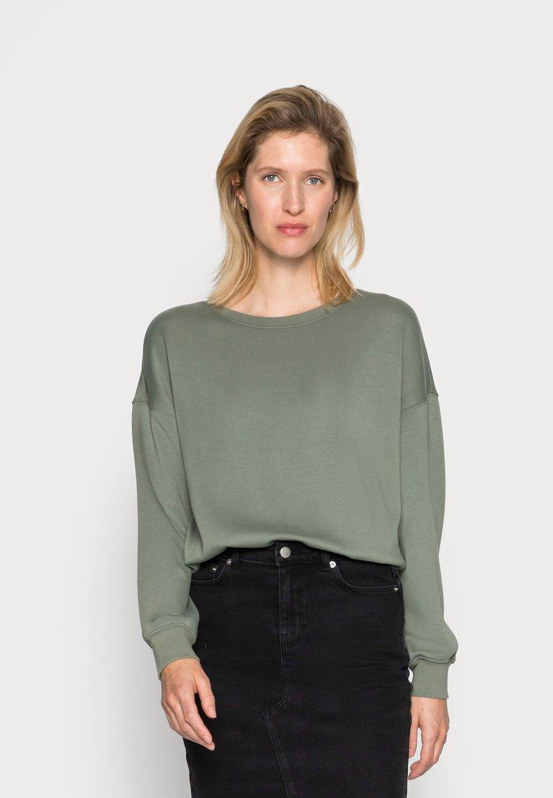 Moss Copenhagen - Sweatshirt - agave green