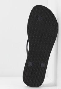Havaianas - SLIM FLATFORM - Pool shoes - black - 6