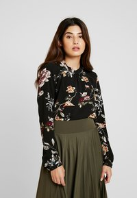 ONLY Petite - ONLNEW MALLORY  BLOUSE - Blouse - black/cd flower - 0