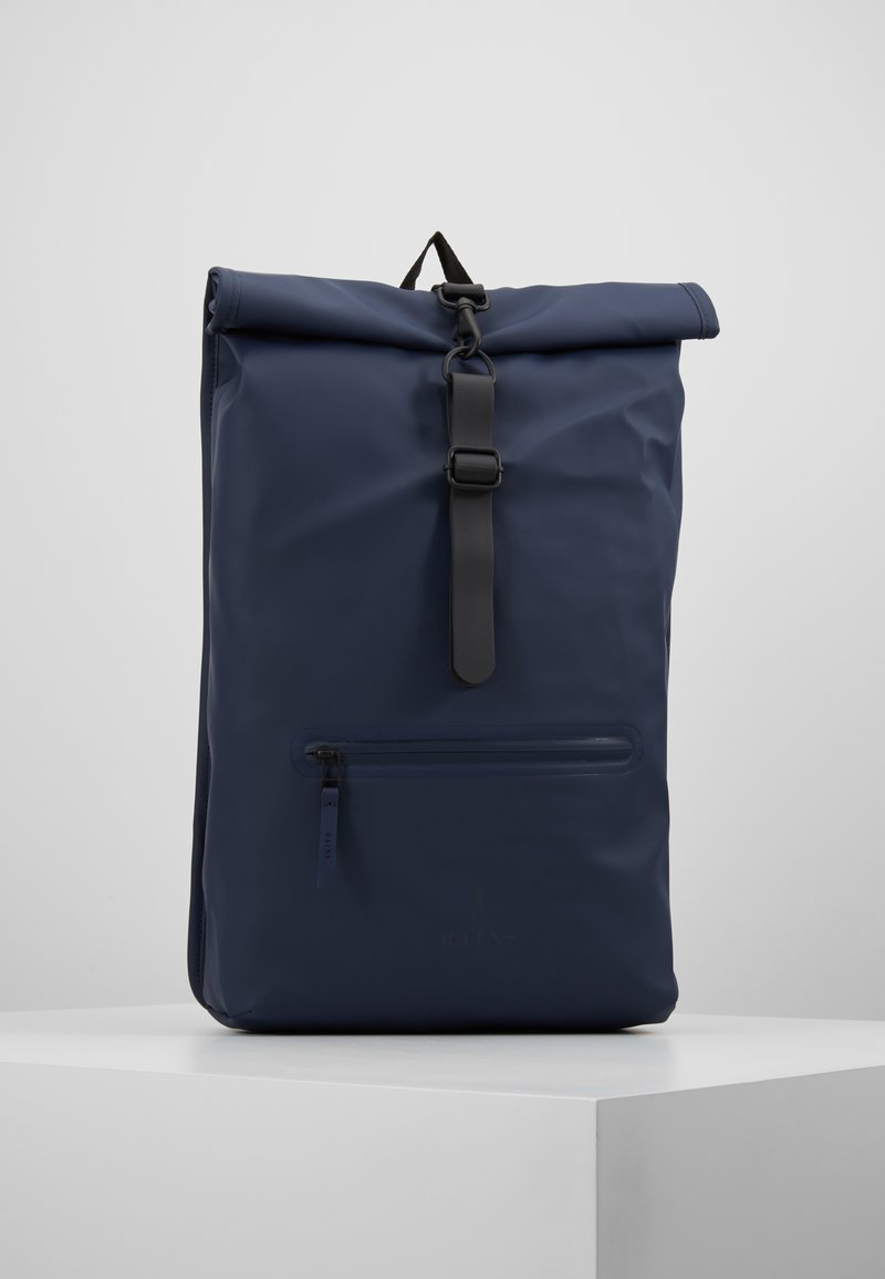 Rains - ROLL TOP - Tagesrucksack - blue