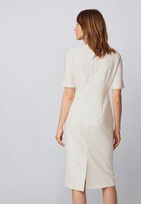 BOSS - DALUNE - Shift dress - natural - 2
