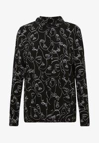 Gerry Weber Casual - Button-down blouse - schwarz/ecru/weiss - 4