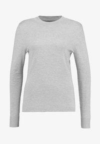 REPEAT TURTLE NECK JUMPER - Sweter - light grey melange