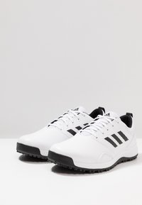adidas Golf - TRAXION - Golfové boty - footwear white/core black/grey six - 2