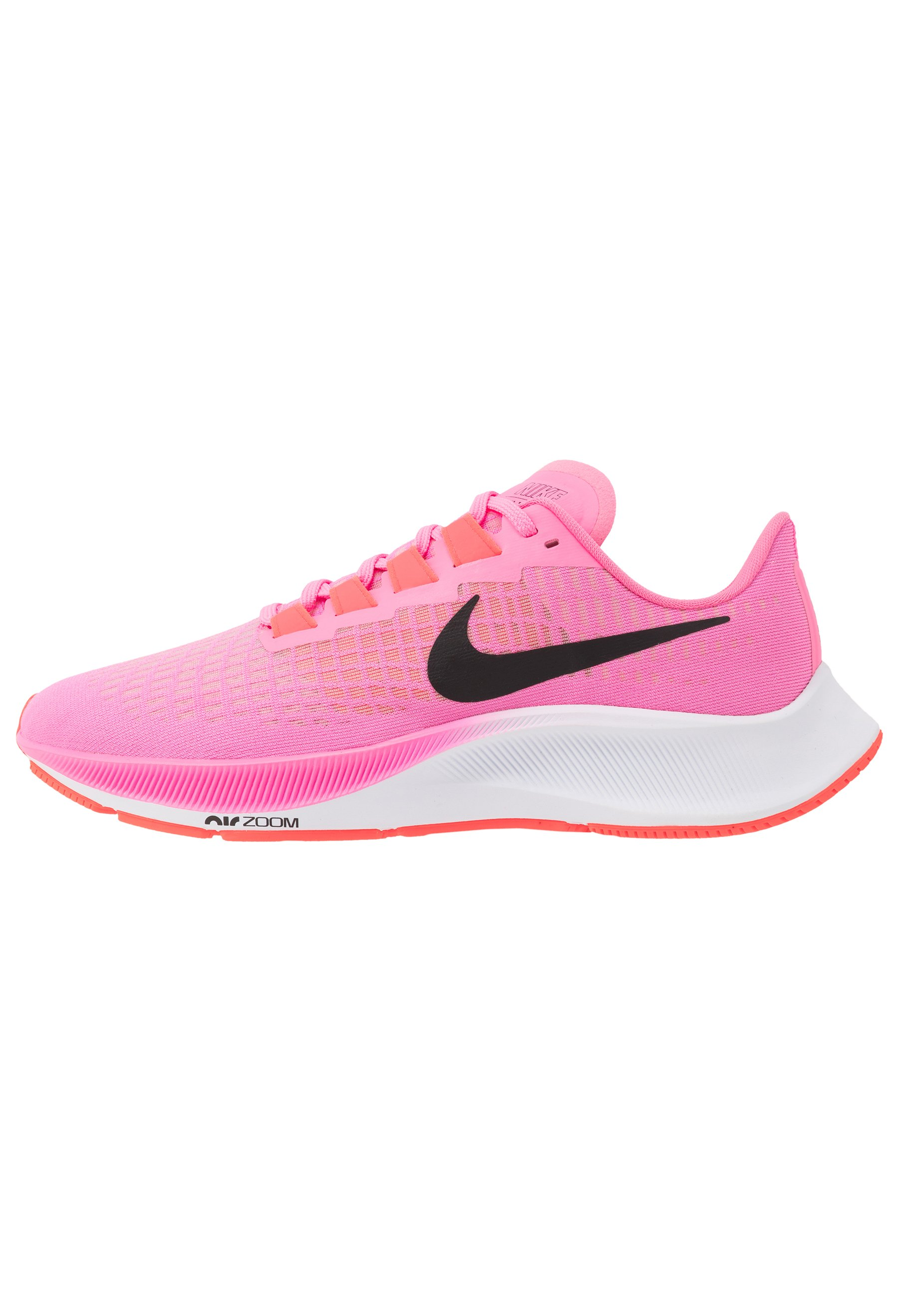 AIR ZOOM PEGASUS 37 - Chaussures de running neutres - pink  glow/black/platinum violet/white