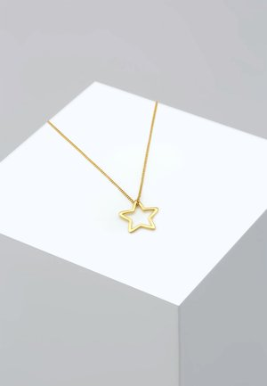 Stern - Necklace - gold-coloured