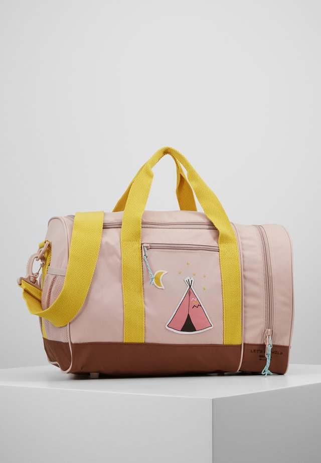 MINI SPORTSBAG ADVENTURE TIPI - Sporttasche - rose