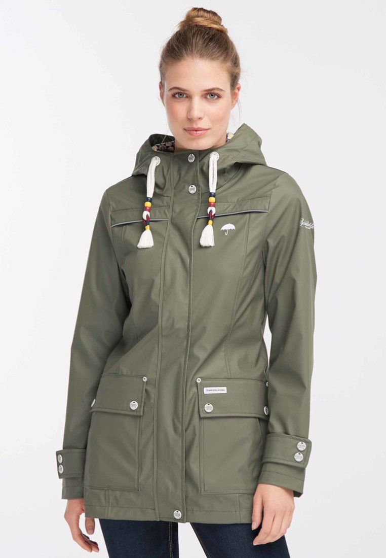 Exclusive Wholesale Schmuddelwedda Parka - olive | women's clothing 2020 4XWhP