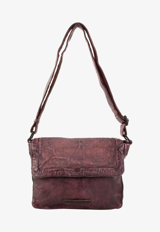 Across body bag - maroon