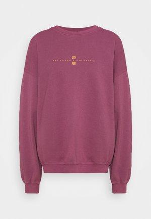 DISTANT WORLDS UNISEX - Sweatshirt - magenta
