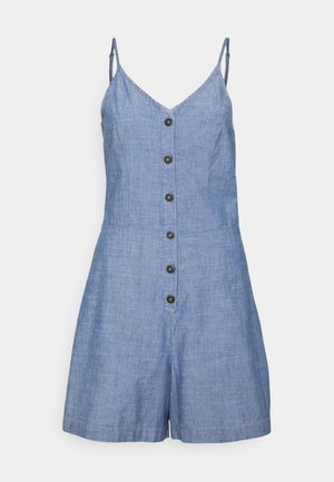 VMAKELA CHAMBRAY STRAP PLAYSUIT - Jumpsuit - medium blue denim