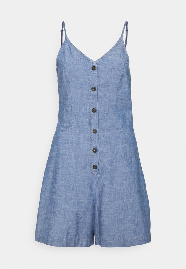 VMAKELA CHAMBRAY STRAP PLAYSUIT - Jumpsuit - medium blue denim