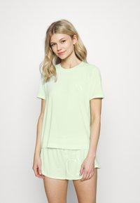 Calvin Klein Underwear - ONE SHORT - Pyjamas - aqua luster - 0