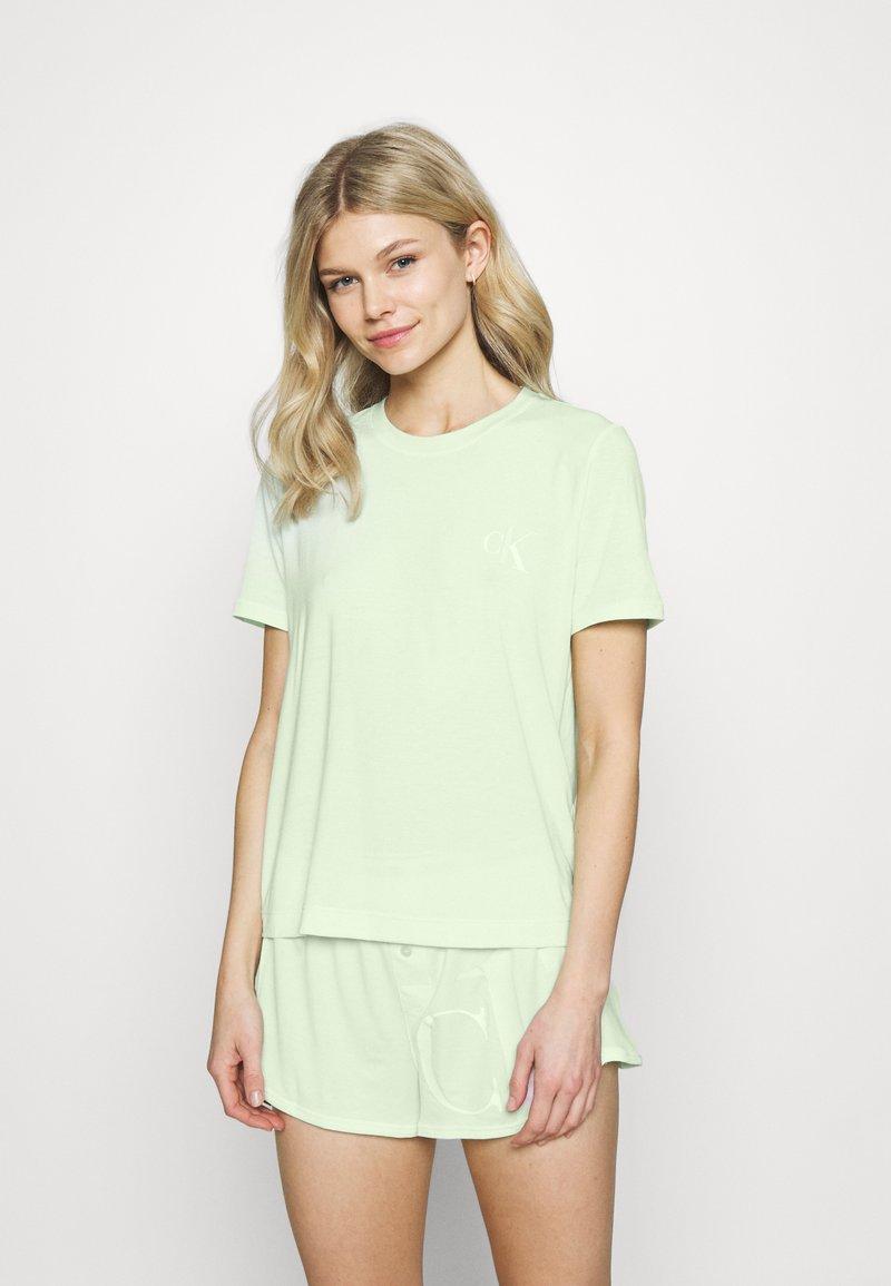 Calvin Klein Underwear - ONE SHORT - Pyjamas - aqua luster