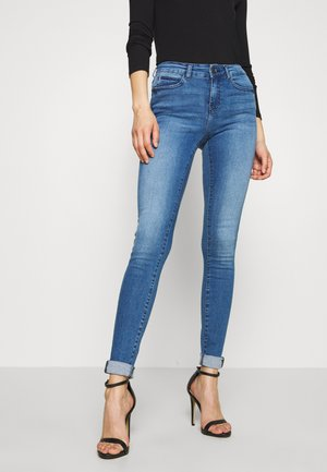 NMLUCY - Skinny džíny - light blue denim