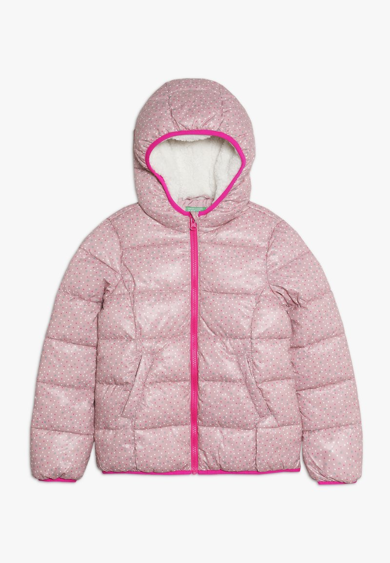 Benetton - JACKET - Winter jacket - light pink