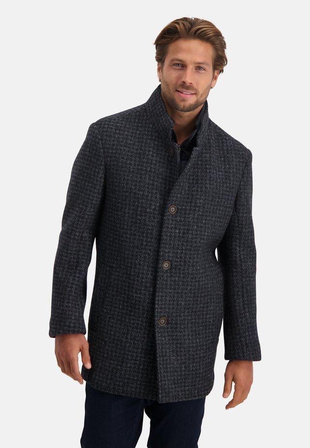 Short coat - dark-blue/medium-grey