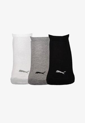 UNISEX SNEAKER PLAIN 6 PACK - Calcetines de deporte - grauweissschwarz
