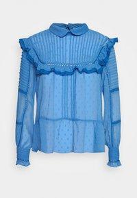 NAF NAF - FLEX - Langærmede T-shirts - bleu pensee - 0