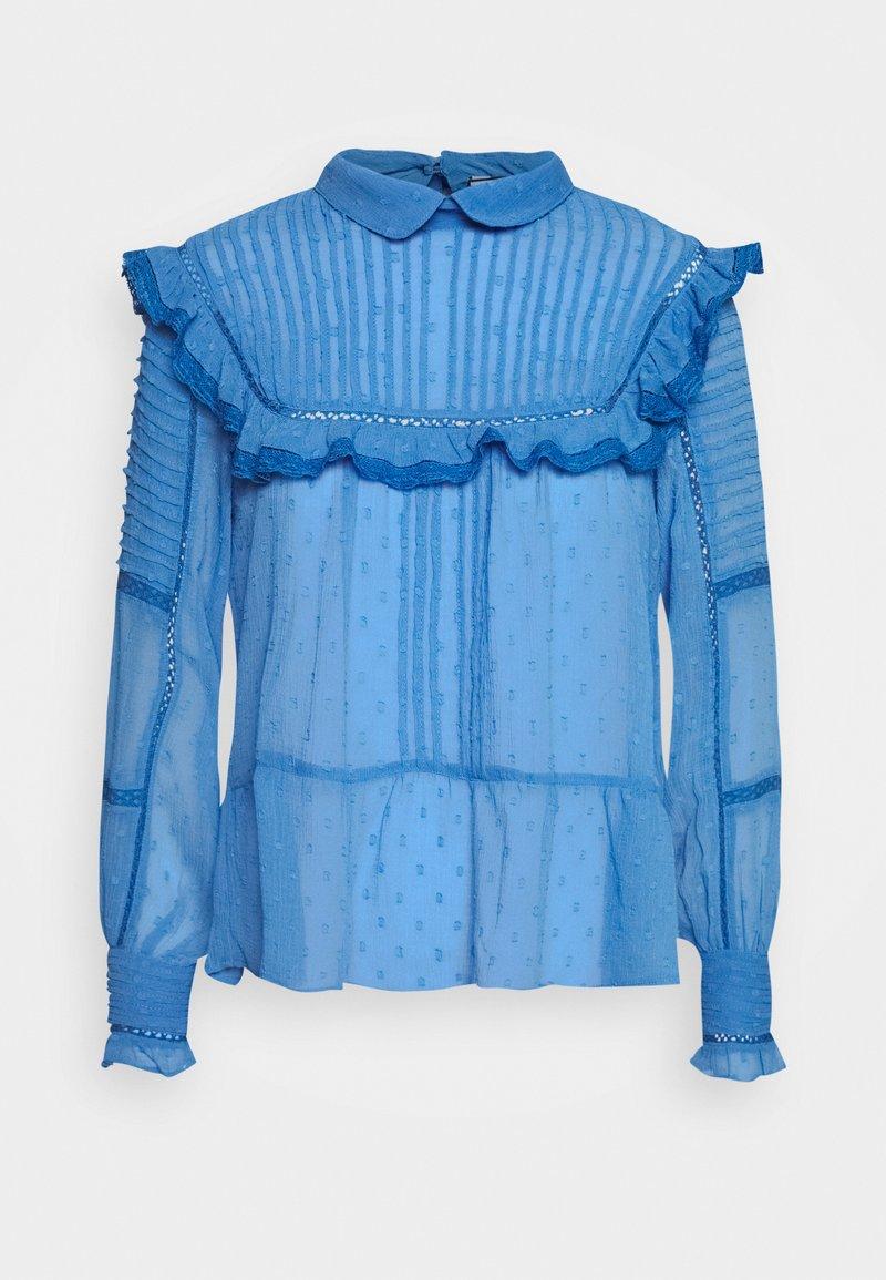 NAF NAF - FLEX - Langærmede T-shirts - bleu pensee