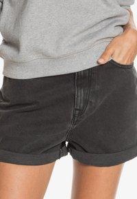 Roxy - Denim shorts - anthracite - 3