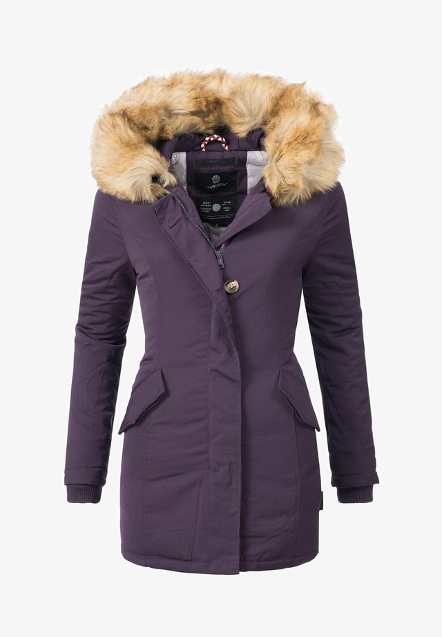 KARMAA - Winter coat - violett