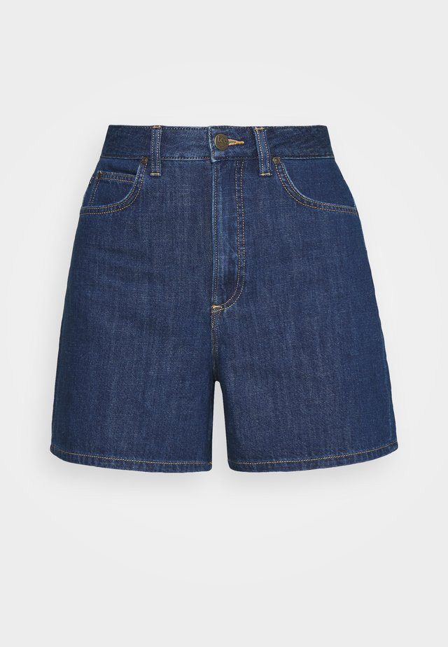 STELLA - Jeans Short / cowboy shorts - rinsed denim
