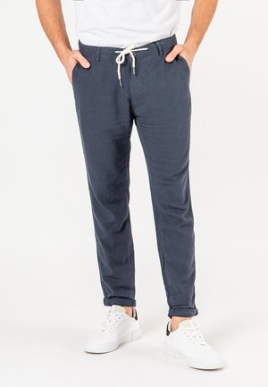 Trousers - dark-blue