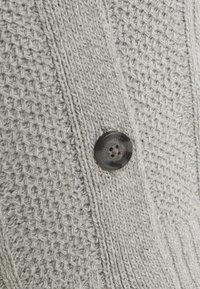 Hollister Co. - CROP CABLE CARDI - Kardigan - medium grey - 2