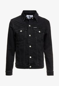 Calvin Klein Jeans - FOUNDATION SLIM JACKET - Denim jacket - denim - 4